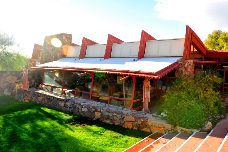 The real Taliesin West