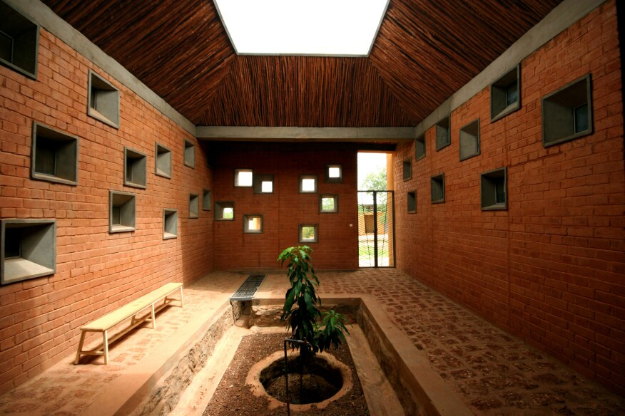 Laongo CSPS Clinic, designed by Francis Kéré.