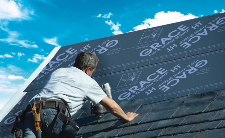Grace Construction High-Temperature Roofing Underlayment