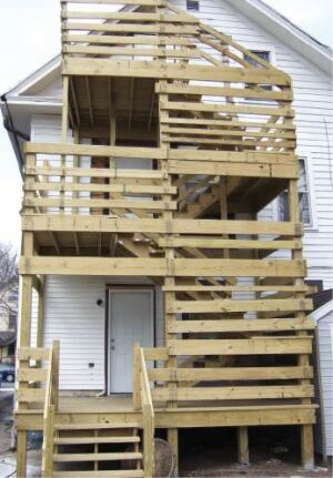 A Deck Built To Fail Professional Deck Builder Codes