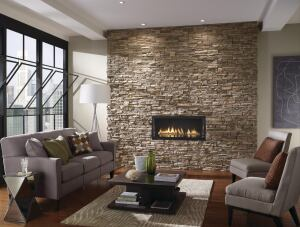 EmberWall architectural stone veneer is the fourth in a series of textural wall design concepts from Eldorado Stone in which the company offers step-by-step online instructions on how to recreate the look in your own space. The EmberWall presents a contemporary take on a traditional fireplace. Eldorado Stone, which in the past has been used most often on exteriors, is less than half the weight of natural stone and requires no substrate reinforcement. EmberWall is part of the companys Gemstone Wall series, which also includes CandleWall, VinoWall, and ArtWall. Components can be purchased nationwide through Eldorados certified network of dealers and distributors. eldoradostone.com