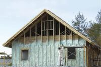 Insulating With Exterior Spray Foam