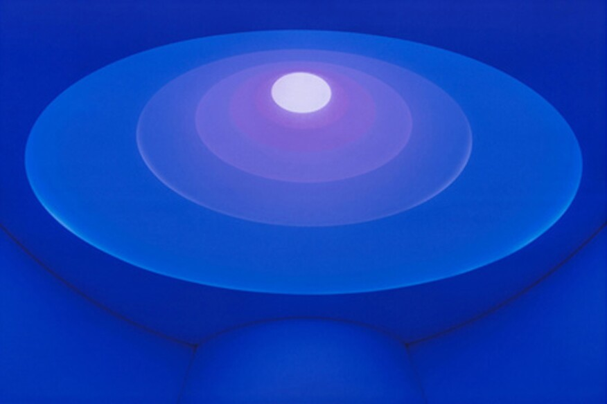 """""""Aten Reign"""" by James Turrell, 2015."""