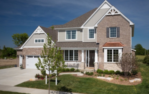 This home in Orland Park, Ill., from Beechen & Dill Homes is part of the Chicago-area GreenBuilt Home Tour.