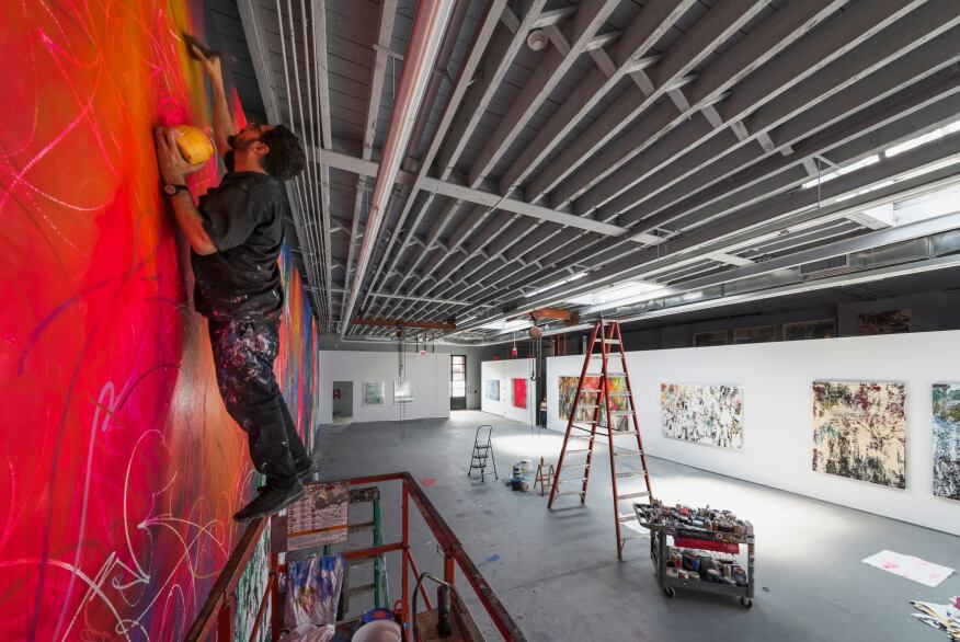 José Parlá Studio, Snøhetta, Brooklyn