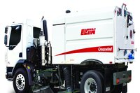 Peterbilt cab-over chassis available on Elgin sweepers