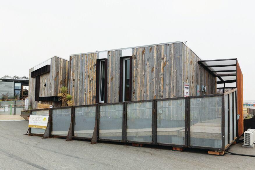 UNLV's DesertSol house.
