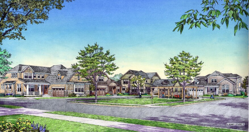 Westgate is currently under development at the Glen community in Glenview, Ill.