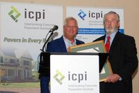 Chuck Taylor Receives ICPI Lifetime Achievement Award