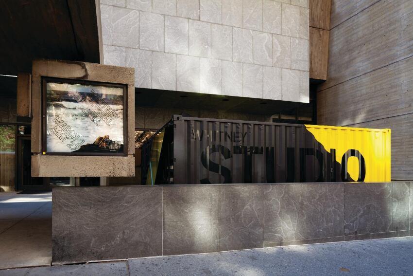 The Whitney Studio, Designed by Lot-ek