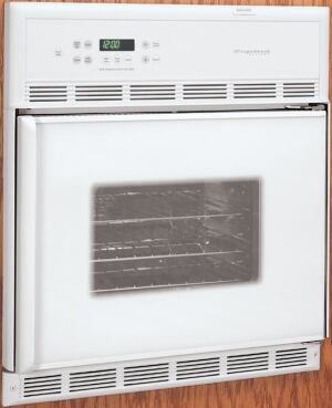Side-hinged wall ovens, says architect James E. Andrews, provide easy and comfortable access from wheelchairs.
