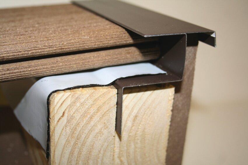Quality Aluminum EverFlashing Deck Flashing