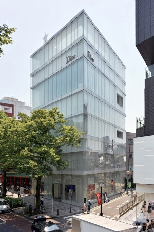 Dior Omotesando, in Tokyo, designed by SANAA, 2004