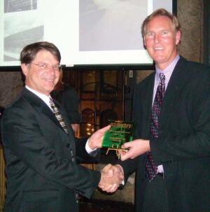 John Reister and Award Winner, Richard Piacentini