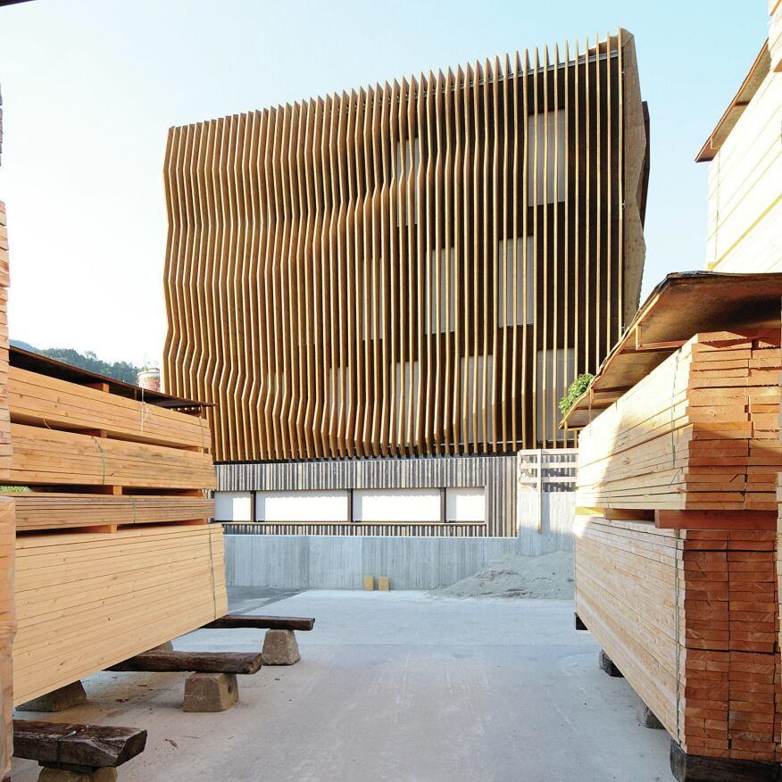 Innovative Detail Modus Architects Designs A Headquarters
