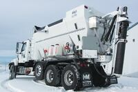 Holcombe Mixers + Model HM Mobile Concrete Mixer