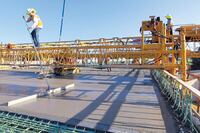 Terex Bid-Well 4800 Bridge Paver