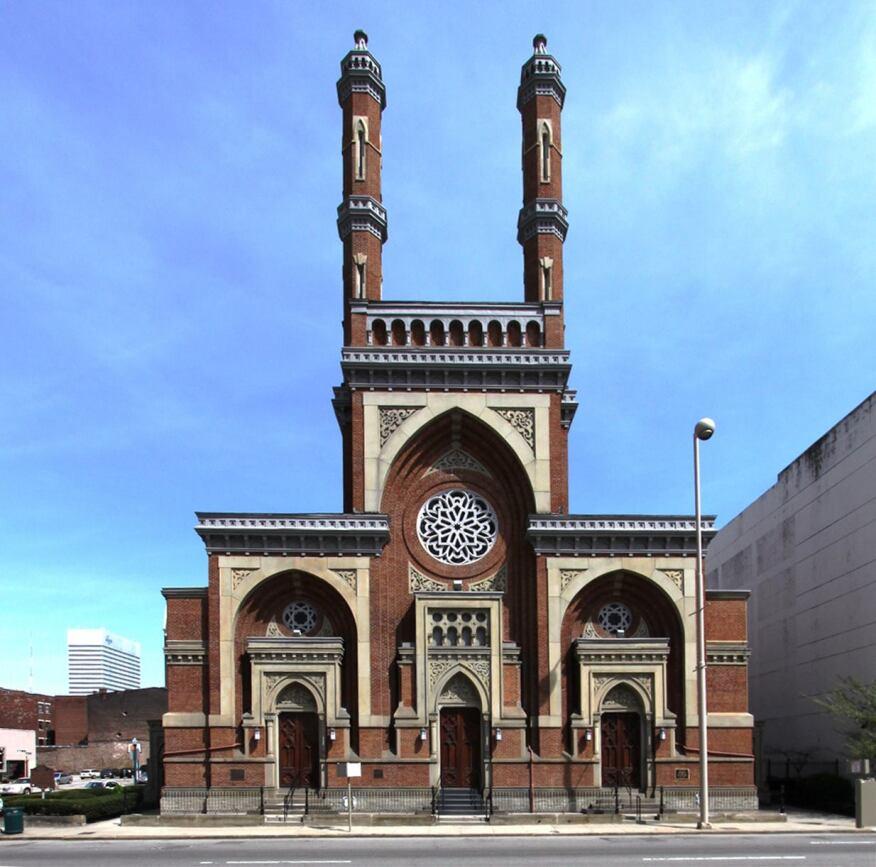 Isaac M. Wise Temple, or Plum Street Temple, Cincinnati