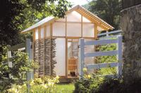 Summer design/build studio creates a refined chicken coop