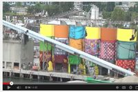 VIDEO: Transforming Concrete Silos Into Public Art