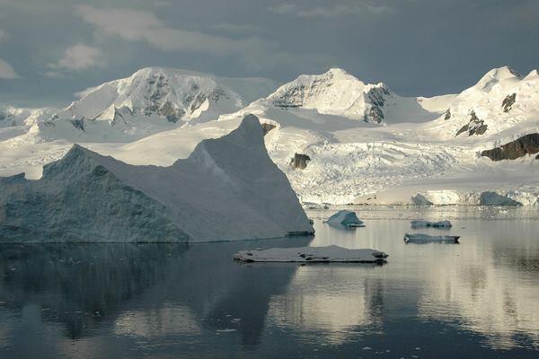 Neko Harbour in Antarctica