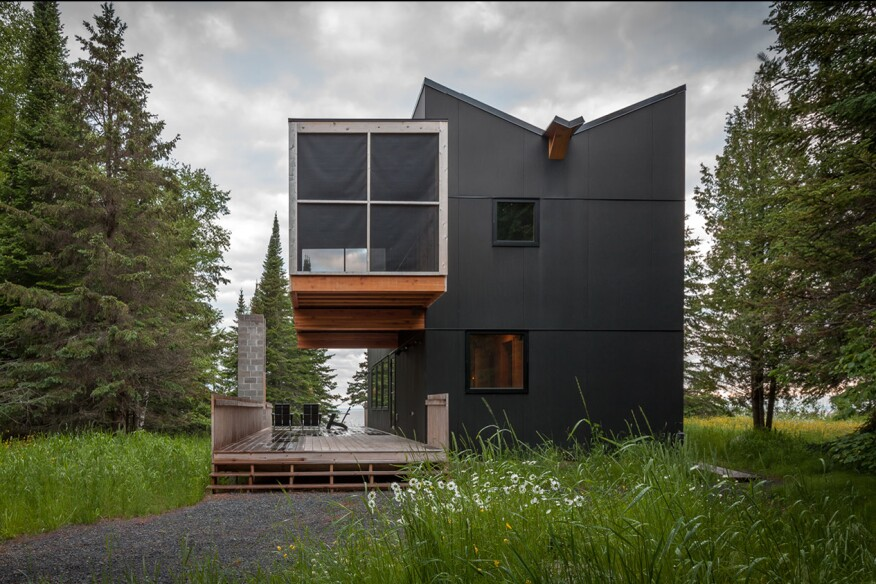 The winners of the 2015 residential architect design for Salmela architect