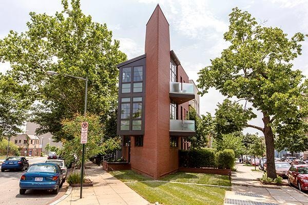 The 2,160-square-foot home is located at 990 Florida Avenue NW, Washington, D.C.