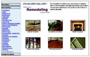 RemodelVision's visualization tools help streamline the selections process.
