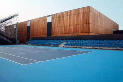 Eton Manor for the London 2012 Olympics