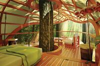 Resort's Guest Rooms Are Suspended in Trees