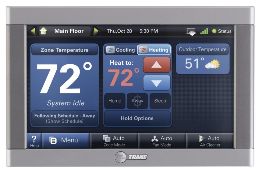 Trane ComfortLink II Thermostat