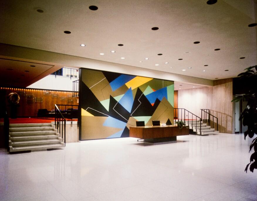 Lobby and reception area, Pet Plaza