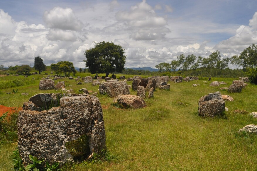 Plain of Jars, Phonsavanh, Laos.