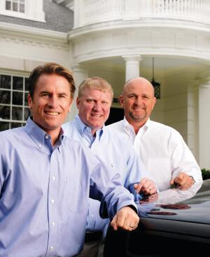Three Amigos  Craig Huseby, Dan Boultan, and Steve Walker of Huseby Homes, in Nashville, Tenn., have literally paid their dues for their 100% referral rate.