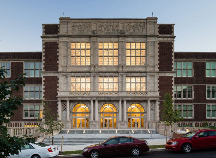 Cardozo High School, Washington, D.C., Hartman-Cox Architects with Grimm+Parker Architects