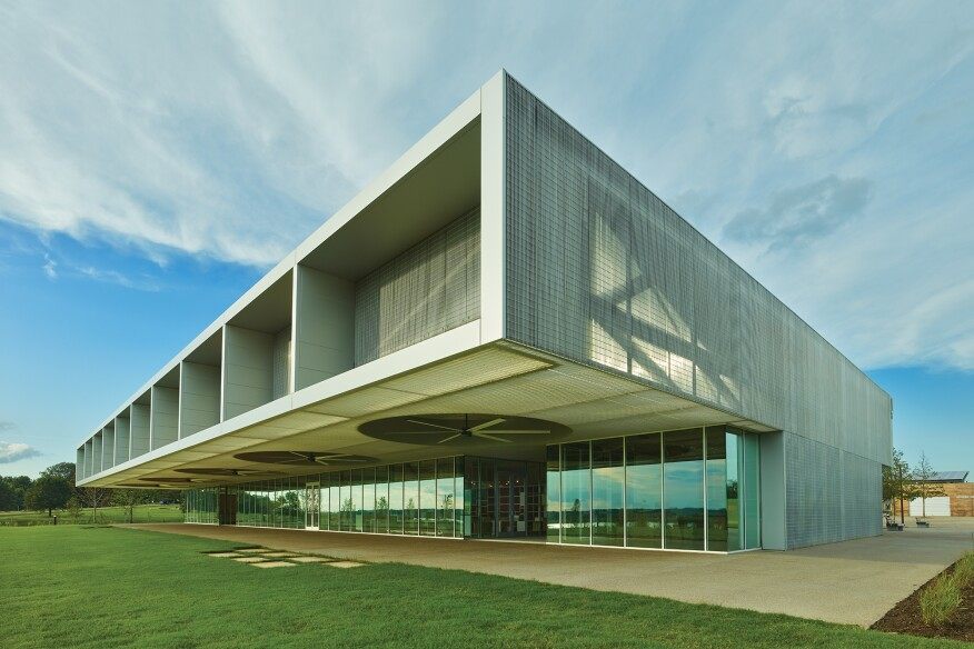 Shelby Farms Park Visitor Center in Memphis, Tenn.