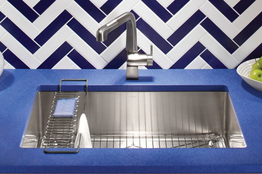 Versatile Workhorse: Kohler Strive Intuitive Kitchen Sink