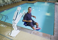 ADA Compliant Pool Access Lifts