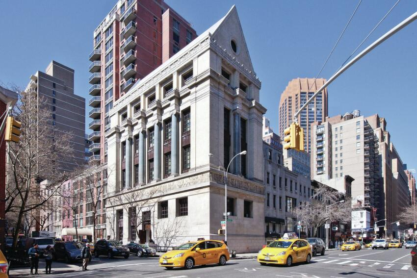 The 1908 building that houses Dover Street Market New York.