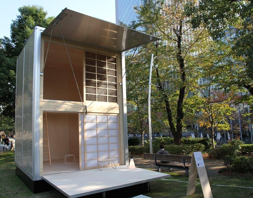 """Truck Hut"",image via Design Boom"