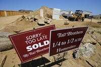 Toll Brothers Sees Price Spiral Killing Pace