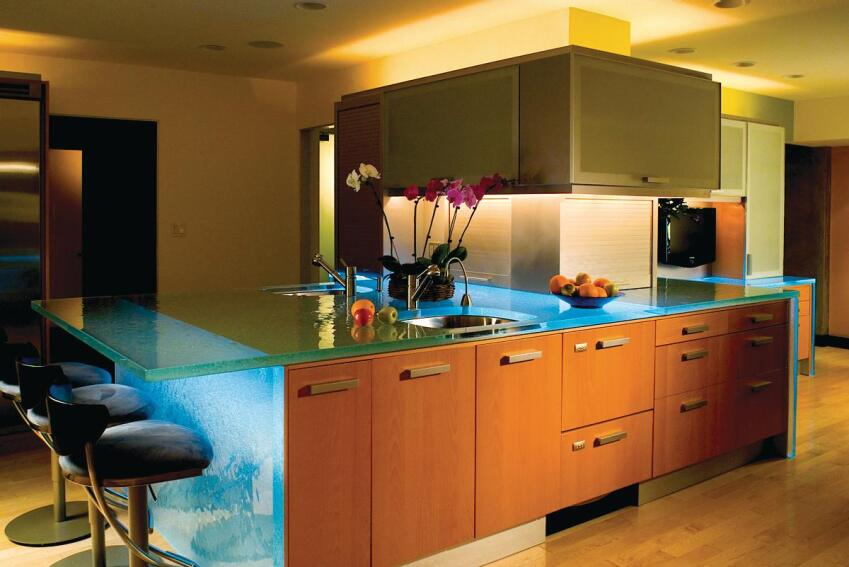ThinkGlass LED Countertops