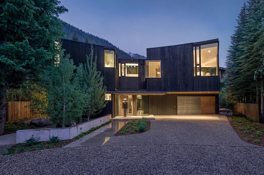 House Architects blackbird house | architect magazine | will bruder architects