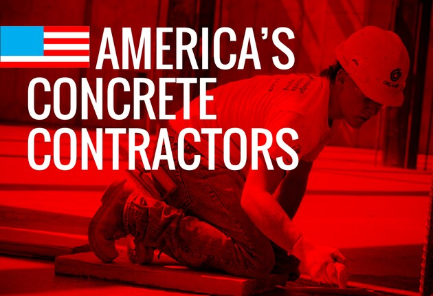 America's Concrete Contractors for 2016