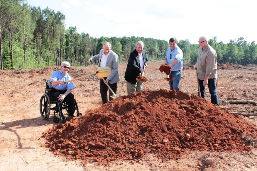 Chapman H broke ground at The Springs of Mill Lakes community in June.