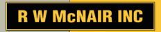 R W McNAIR INC Logo