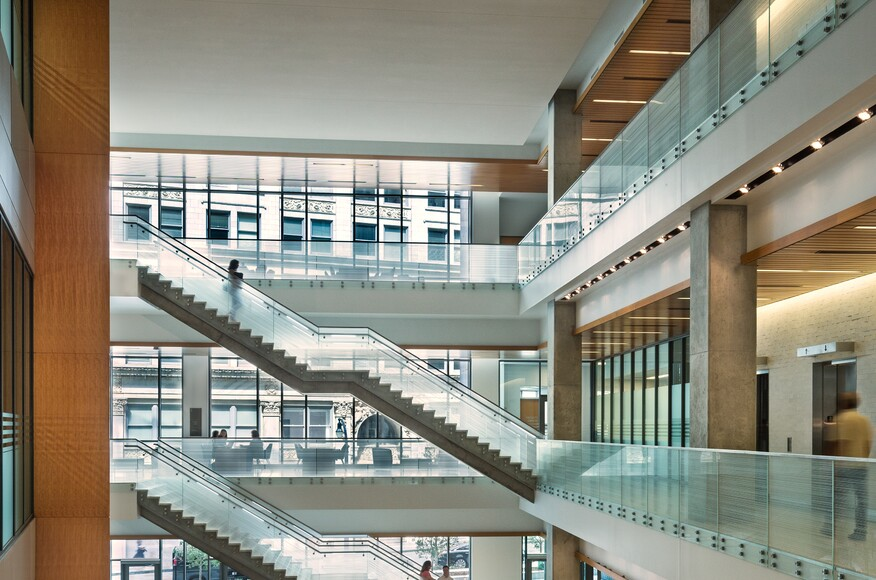 New College Of Law Building Designed To Become Intellectual Multi Use Hub Encourages Interaction And Synergy