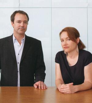 Austin Kelly and Monika Haefelfinger
