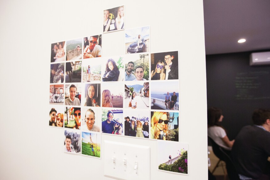 Even the walls provide a means to share experiences and come together in coliving properties.