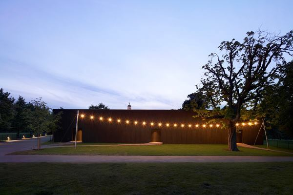 Serpentine Gallery Pavilion 2011, designed by Peter Zumthor